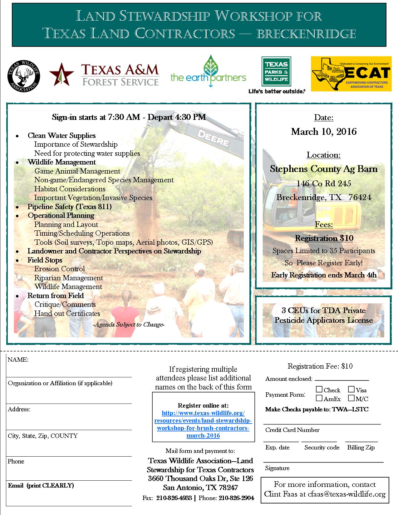 Brush Contractor March 2016  Registration
